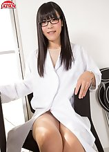 SMJ favourite Yui Kawai has a PHD (a Pretty Hard Dick) and she invites you into her surgery today to administer it by mouth and ass as she promises to