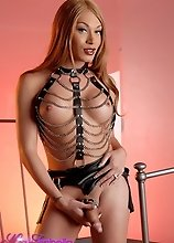 Super hot Mia Isabella posing as a kinky mistress