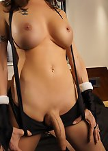 TS Mariana Cordoba has a SheCock to die for