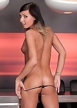 The sexy transsexual Sienna Grace takes a hardcore fuck in that tight delicious ass!
