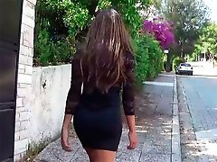 Hung Beautiful SheGirl goes FULL GREEK