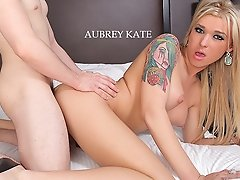 Aubrey Kate knows what she wants after a night of partying on the town. She wants to get fucked by a huge cock in her tight shemale ass, thats what!